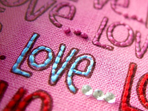 Love you more... closeup